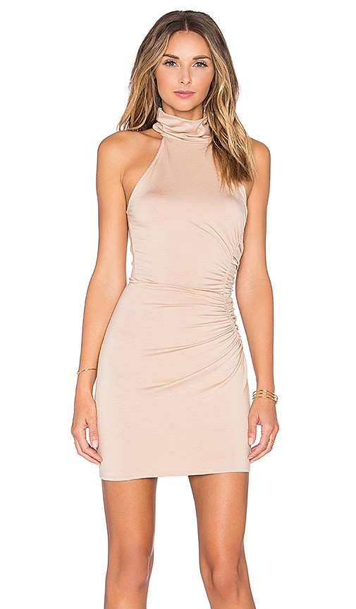Rachel Pally Short Galene Dress in Beige