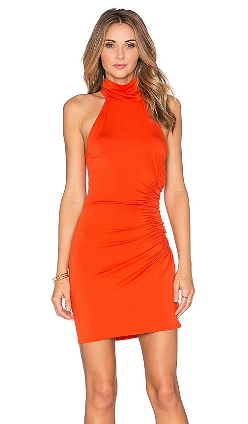 Rachel Pally Short Galene Dress in Burnt Orange