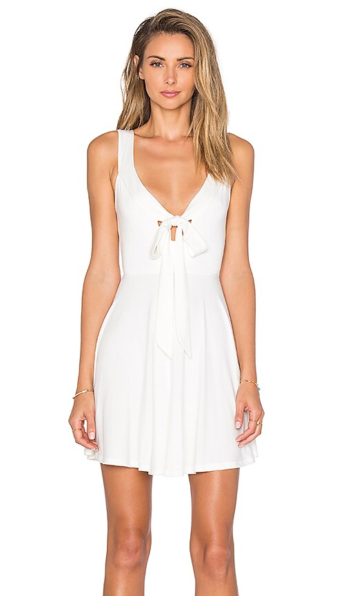 Rachel Pally Ossy Mini Dress in White