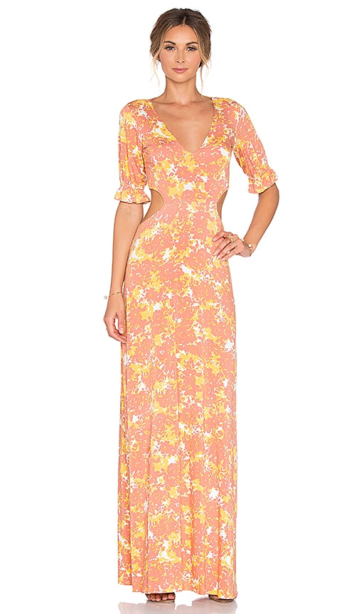 Rachel Pally Finnie Maxi Dress in Peach