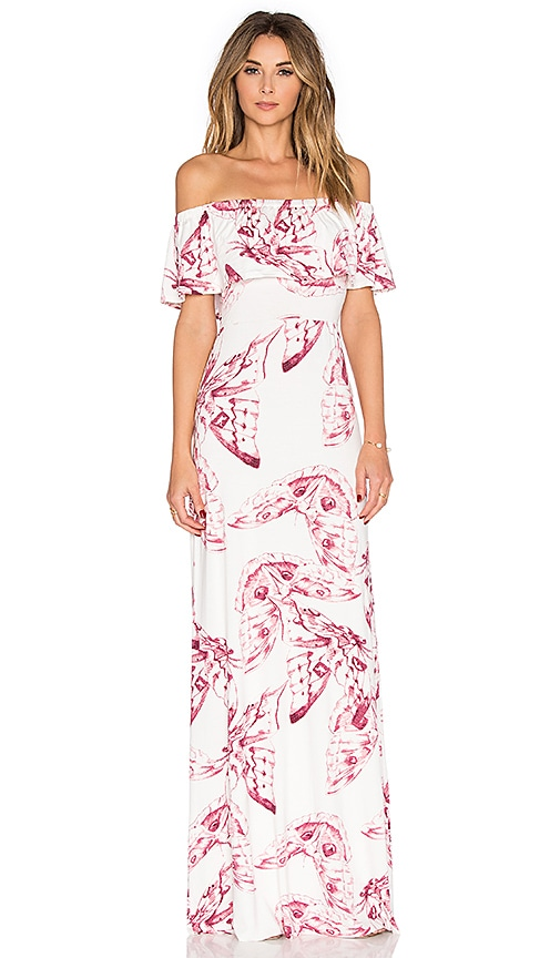 Rachel Pally Reston Maxi Dress in White