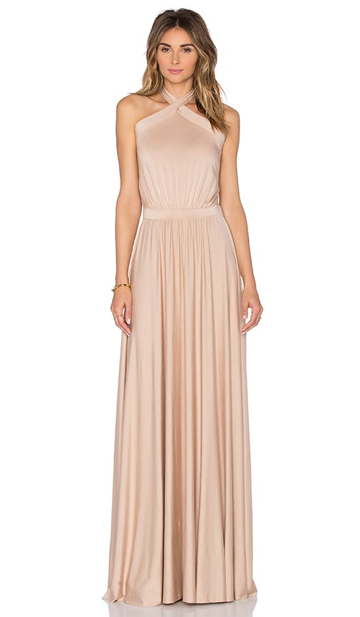 Rachel Pally Teana Maxi Dress in Beige