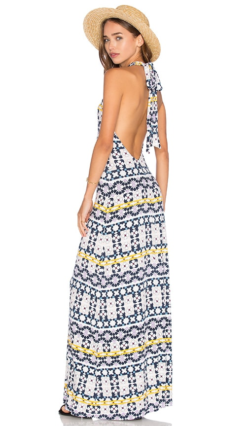 Rachel Pally Fausto Maxi Dress in Navy