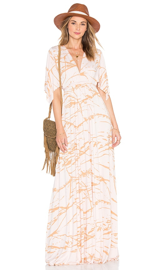 Rachel Pally Long Caftan Dress in Blush