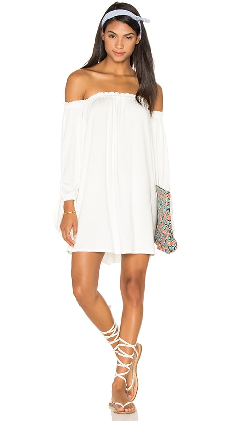 Rachel Pally Trice Mini Dress in White