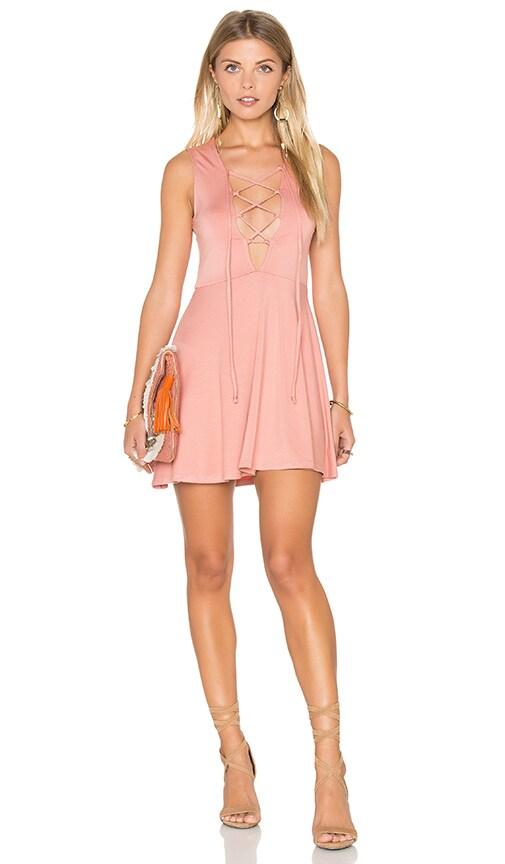 Rachel Pally Kaili Mini Dress in Blush
