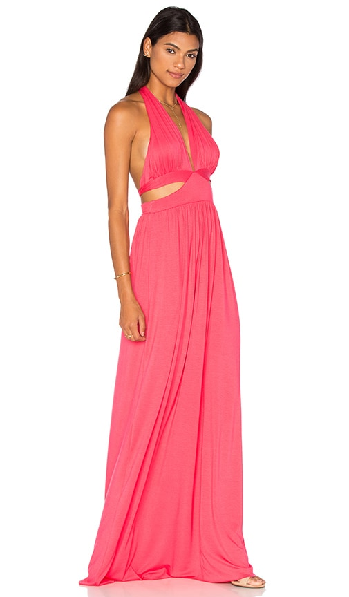 Rachel Pally Naeva Maxi Dress in Fuchsia