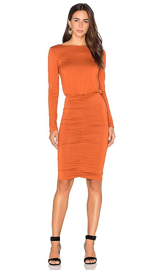 Rachel Pally Dori Dress in Rust