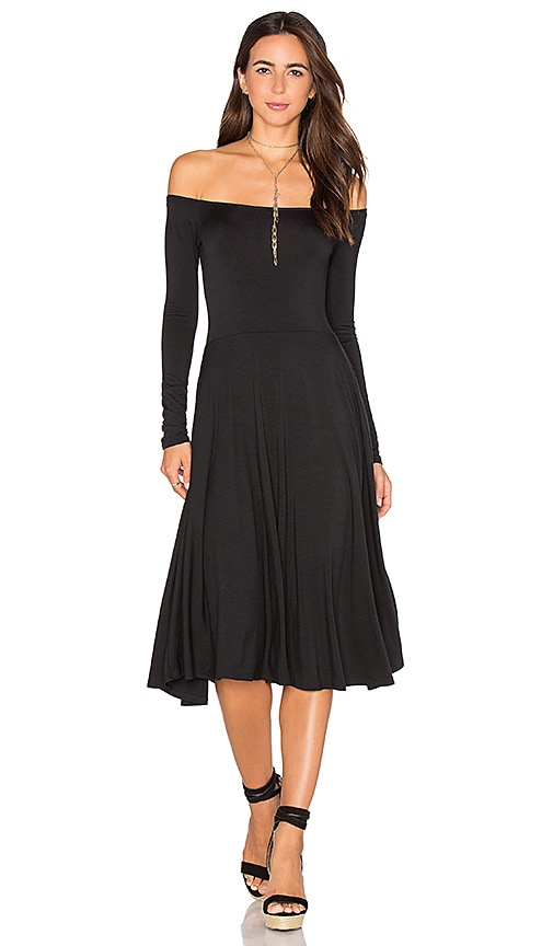 Rachel Pally Long Sleeve Lovely Dress in Black