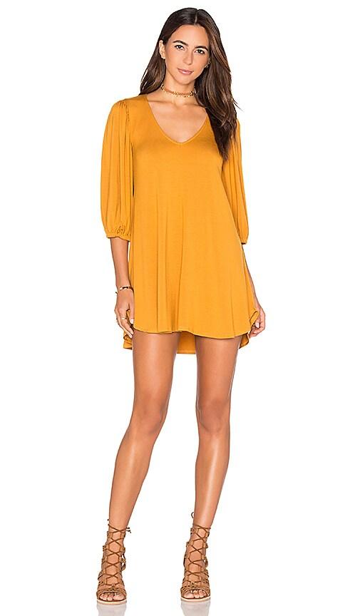 Rachel Pally Ezra Dress in Mustard