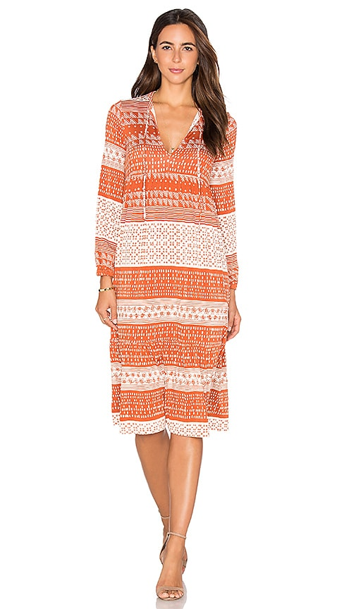 Rachel Pally Kaemon Dress in Rust