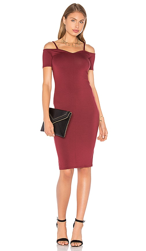 Rachel Pally Milan Dress in Burgundy