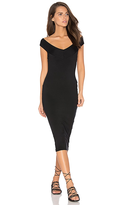 Rachel Pally Sammie Bodycon Dress In Black