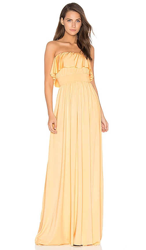 Rachel Pally Sienna Dress in Yellow