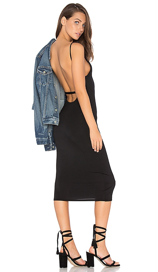 Bare Back Midi Dress