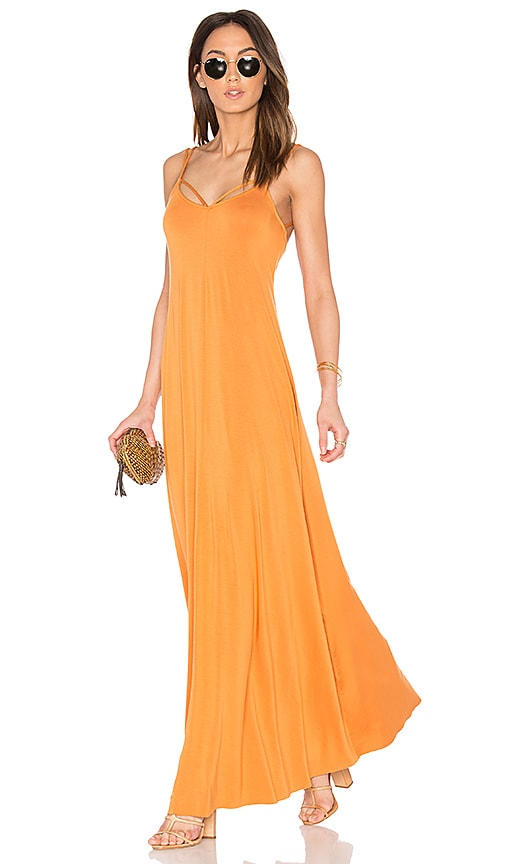 Rachel Pally Gilley Dress in Orange