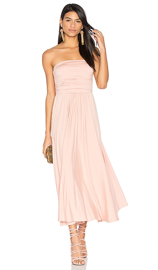 Rachel Pally Eme Dress in Peach