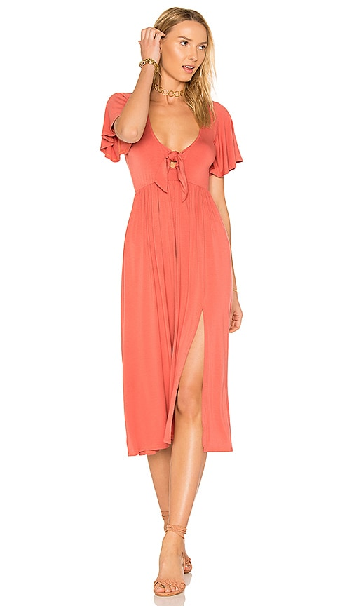 Rachel Pally X REVOLVE Romelo Dress in Coral