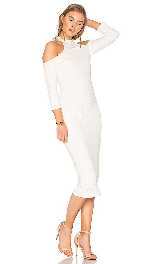 Rachel Pally Rib Hana Dress in Ivory
