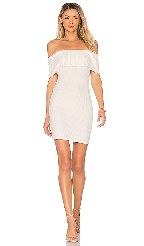 Rachel Pally Rib Annika Dress in White