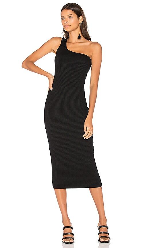 Rachel Pally Rib Wyn Dress in Black