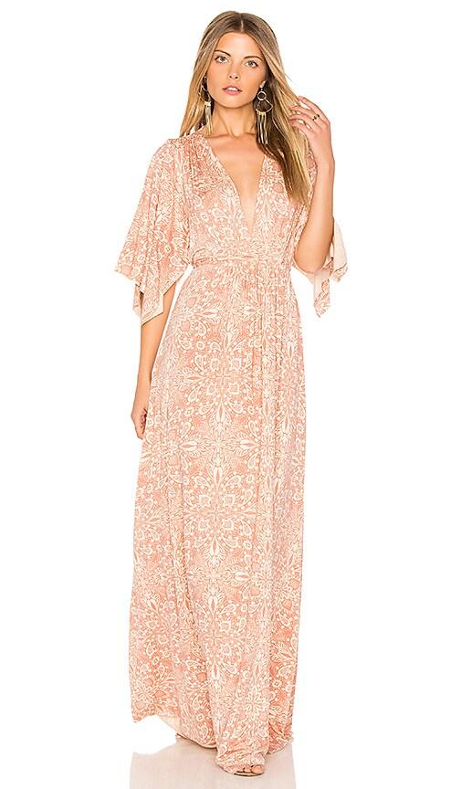 Rachel Pally Long Caftan Dress in Pink