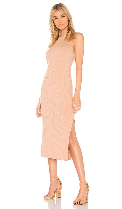 Rachel Pally Rib Donatella Dress in Tan