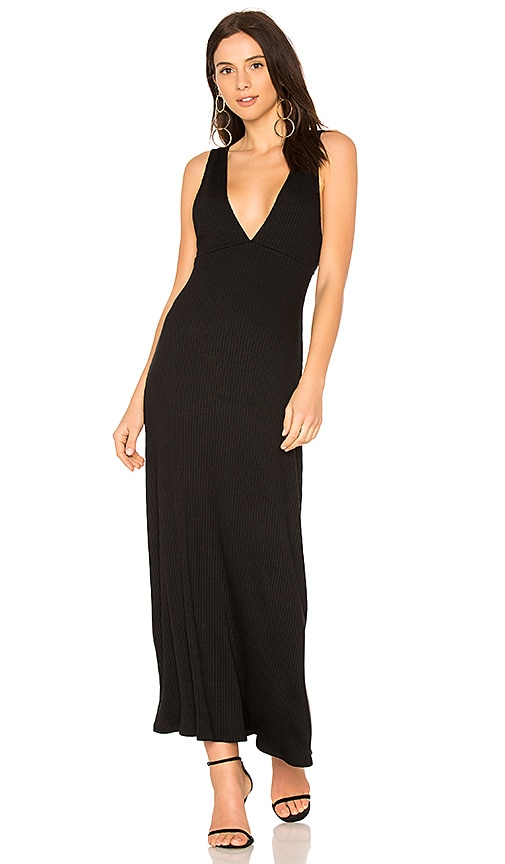 Rachel Pally Rib Luc Dress in Black