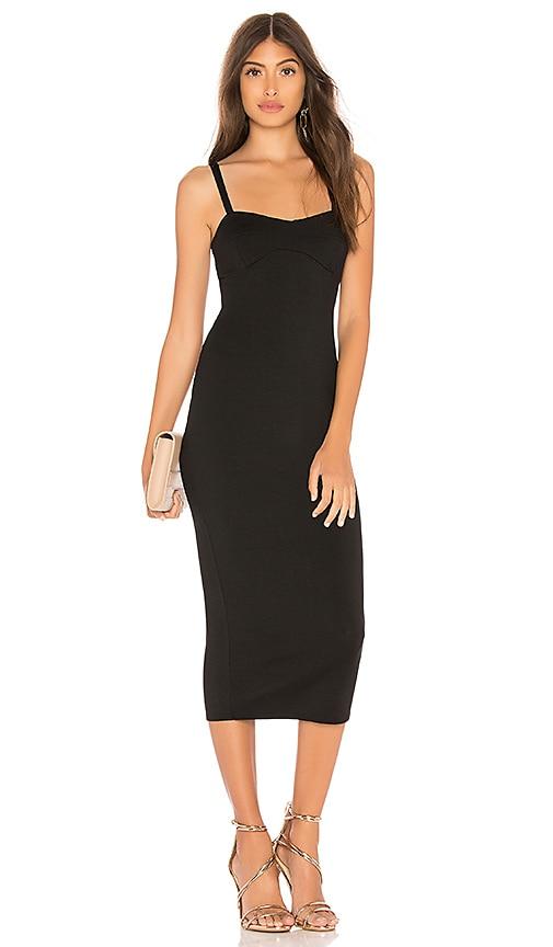 Rachel Pally Bra Midi Dress in Black