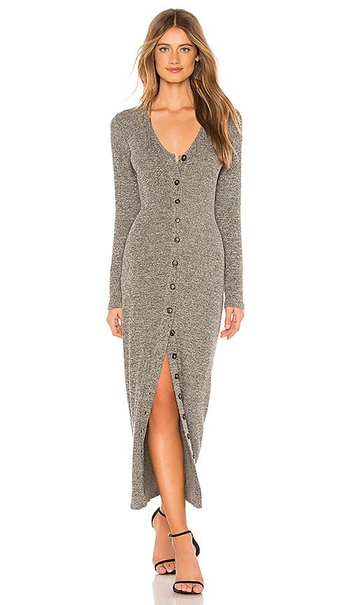 Metallic Rib Sweater Dress