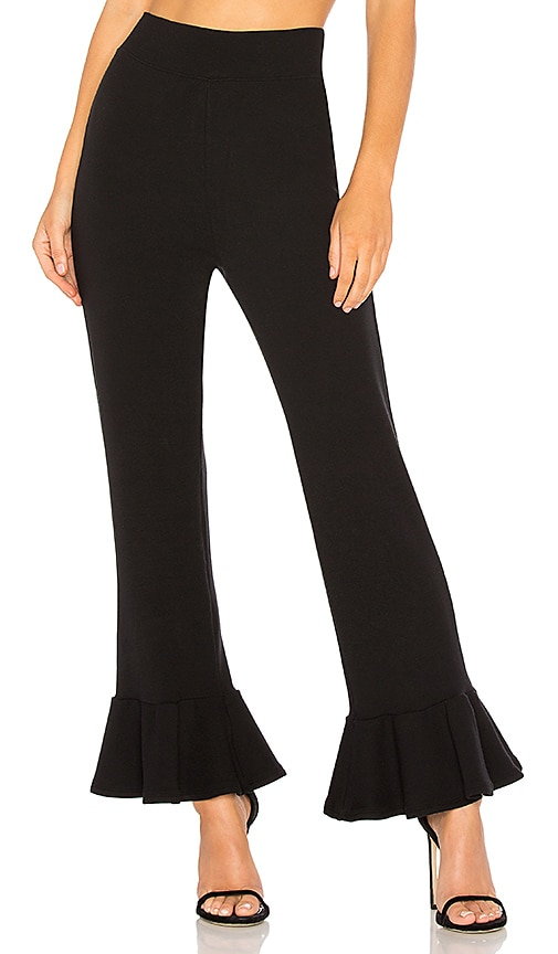 Rachel Pally Luxe Rib Kori Pant in Black