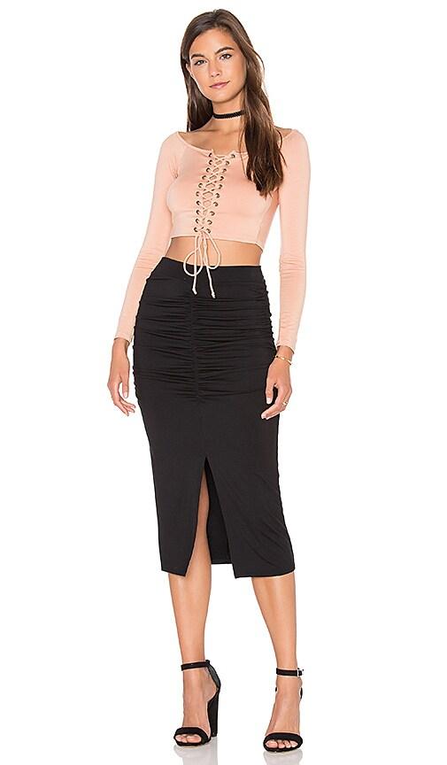 4d7469bd3a6d3 delicate Rachel Pally Nic Skirt in Black - toprace.co.uk