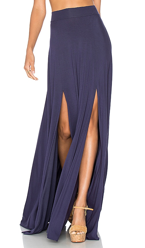 Rachel Pally Josefine Maxi Skirt in Navy