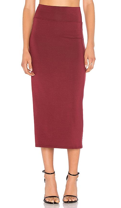 Rachel Pally Convertible Skirt in Burgundy
