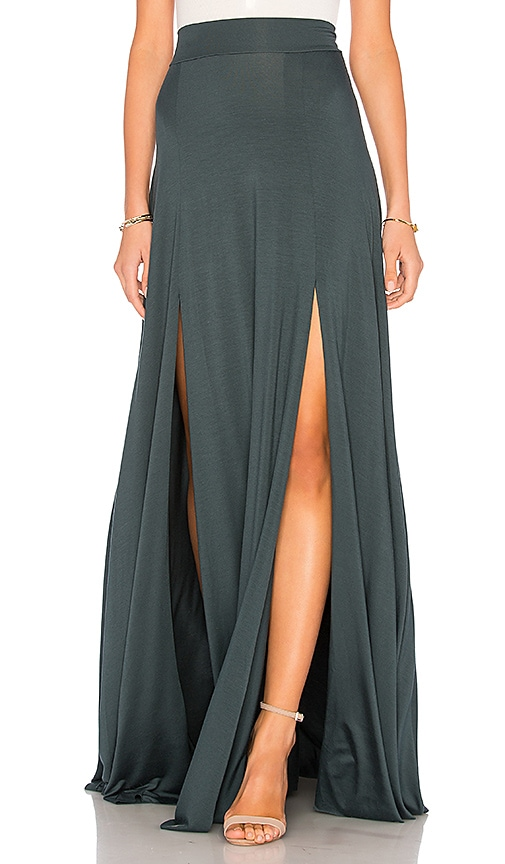 Rachel Pally Josefine Skirt in Dark Green