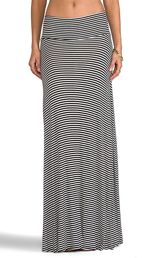 Rib Long Full Skirt