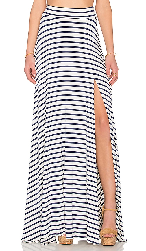 Rachel Pally Josefine Maxi Skirt in Atlantic Stripe