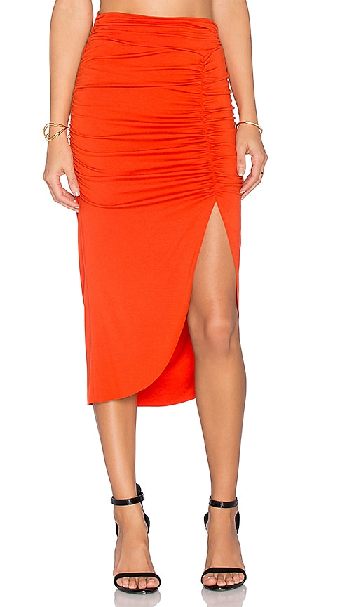 Rachel Pally Monte Skirt in Burnt Orange