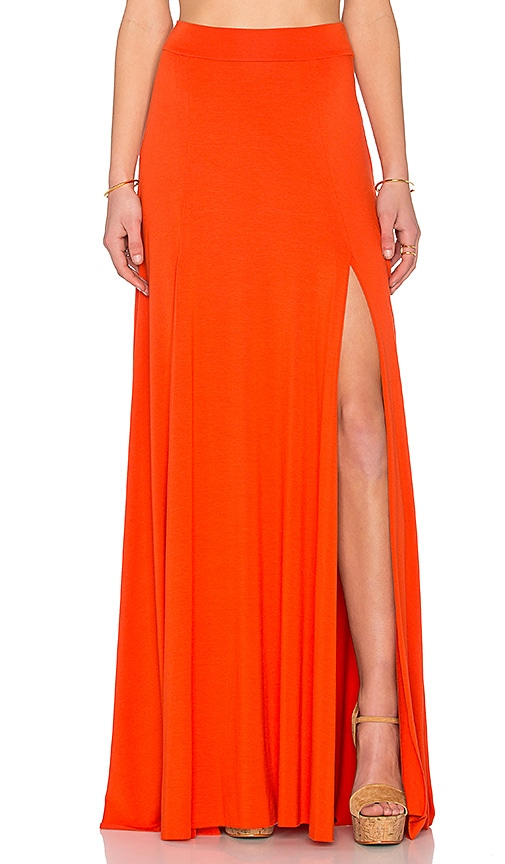Rachel Pally x REVOLVE Josefine Maxi Skirt in Orange