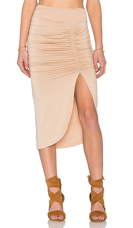 Rachel Pally X REVOLVE Monte Skirt in Tan