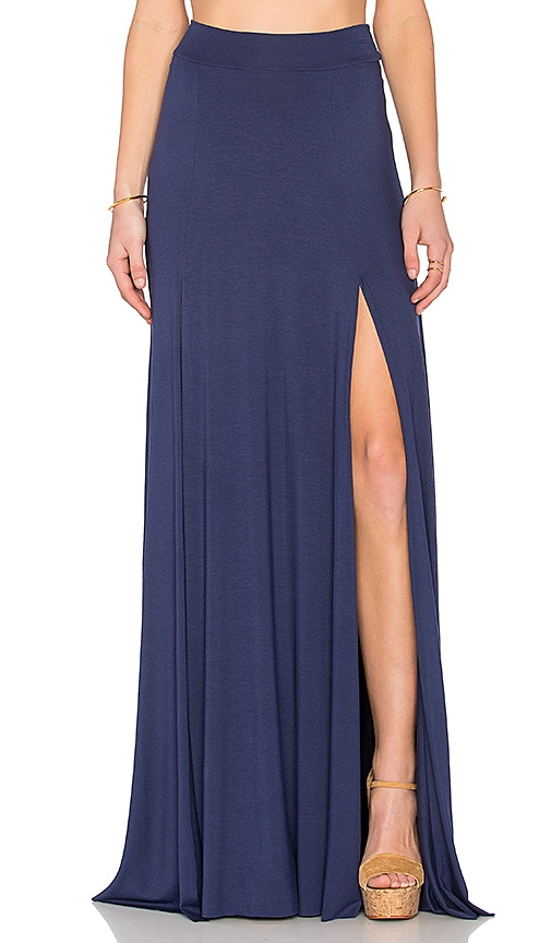 Rachel Pally x REVOLVE Josefine Maxi Skirt in Navy