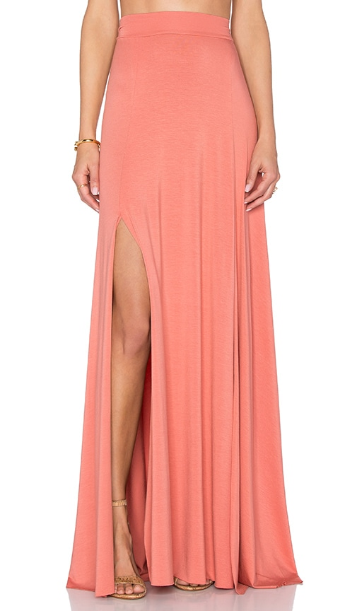 Rachel Pally Josefine Maxi Skirt in Rust