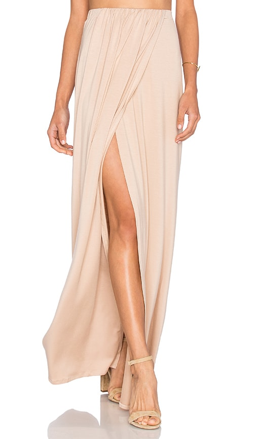 Rachel Pally Lima Maxi Skirt in Beige