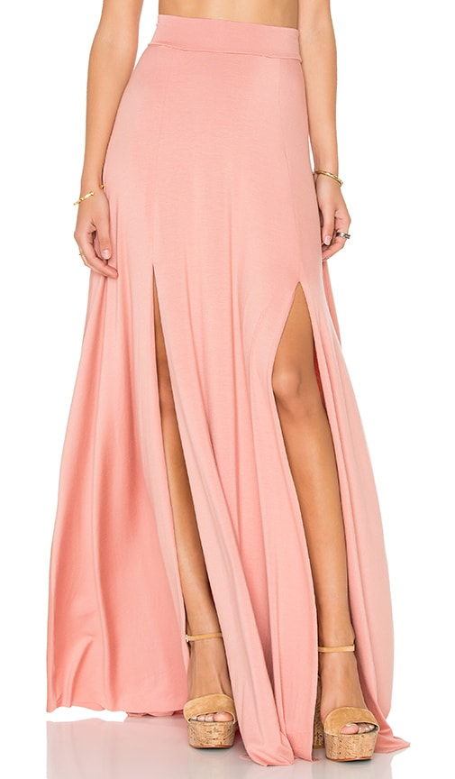 Rachel Pally Josephine Maxi Skirt in Blush