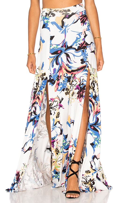 Rachel Pally Josephine Maxi Skirt in White