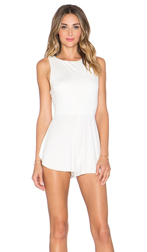 Rachel Pally Joan Romper in White