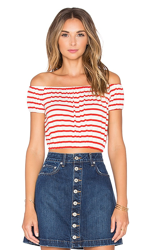 Rachel Pally Ondrea Top in Red