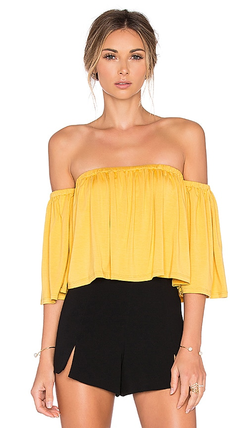 Rachel Pally Esmeralda Top in Yellow