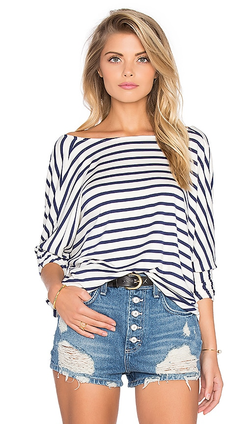 Rachel Pally Tim Top in Navy