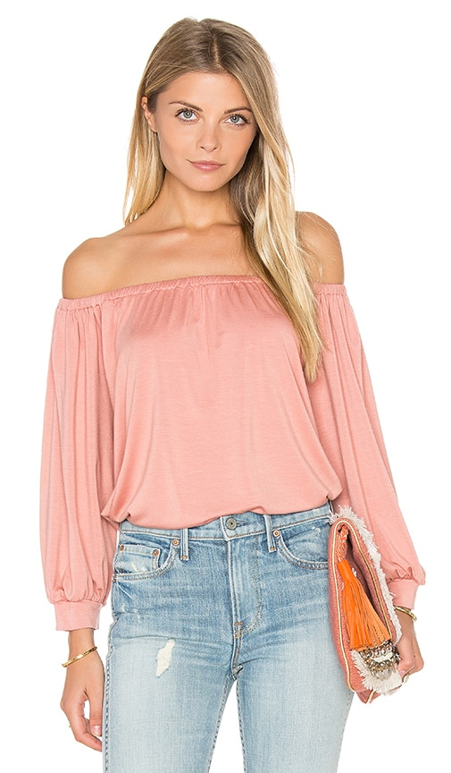 Rachel Pally Ayumi Top in Blush